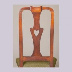 QUEEN ANNE SIDE CHAIR WITH HEART FORM SPLAT - 1130981