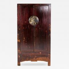 Qing Dynasty Chinese Cabinet with Two Drawers - 1225581