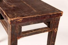 Qing Dynasty Elm Wood Writing Table - 1132594