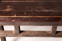 Qing Dynasty Elm Wood Writing Table - 1132596