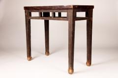 Qing Dynasty Elm Wood Writing Table - 1132598