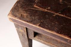 Qing Dynasty Elm Wood Writing Table - 1132602