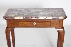 Queen Anne Carved Mahogany Slab Table - 1983631
