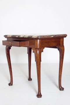 Queen Anne Carved Mahogany Slab Table - 1983635