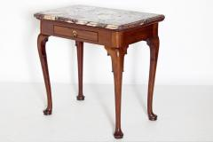 Queen Anne Carved Mahogany Slab Table - 1983642
