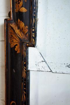 Queen Anne Chinoiserie Cushion Mirror - 1797785