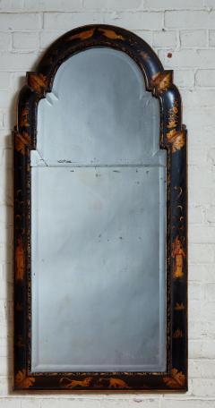 Queen Anne Chinoiserie Cushion Mirror - 1797787