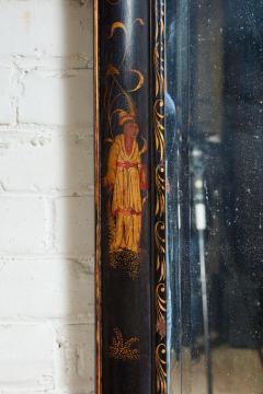 Queen Anne Chinoiserie Cushion Mirror - 1797790