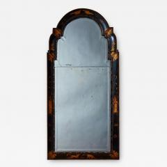 Queen Anne Chinoiserie Cushion Mirror - 1800290