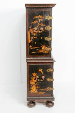 Queen Anne Collectors Cabinet Japanned - 1920559