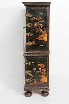Queen Anne Collectors Cabinet Japanned - 1920562