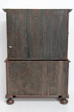 Queen Anne Collectors Cabinet Japanned - 1920567