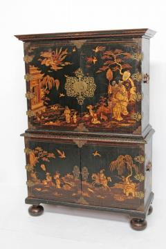 Queen Anne Collectors Cabinet Japanned - 1920569