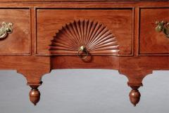 Queen Anne Lowboy with a Fan Carved Drawer - 663490
