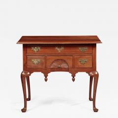 Queen Anne Lowboy with a Fan Carved Drawer - 664001