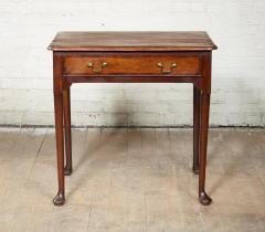 Queen Anne Pad Foot Oak Table - 1952966