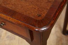 Queen Anne Pad Foot Oak Table - 1952969