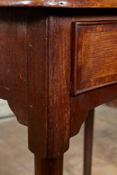 Queen Anne Pad Foot Oak Table - 1952975
