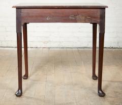 Queen Anne Pad Foot Oak Table - 1952976