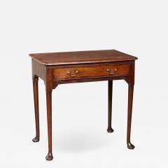 Queen Anne Pad Foot Oak Table - 1955347