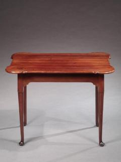 Queen Anne Porringer Top Tea Table - 574201