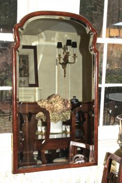 Queen Anne Revival Burl Walnut Pier Mirror - 1867742