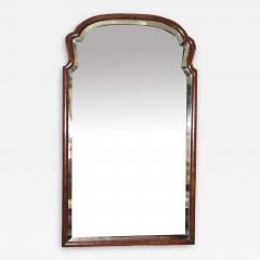 Queen Anne Revival Burl Walnut Pier Mirror - 1873630