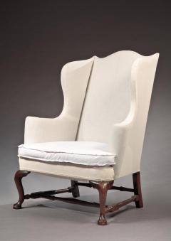 Queen Anne Wing Chair - 396835
