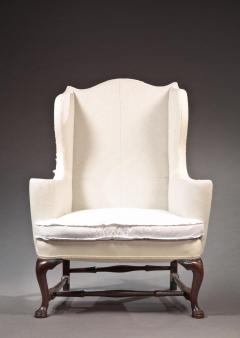 Queen Anne Wing Chair - 396836
