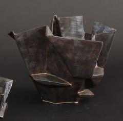R A Pesce Medium Bronze Gold Bowl XI - 1312547