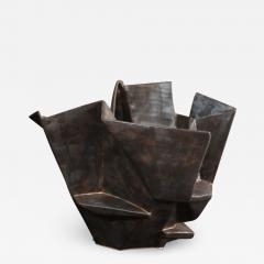 R A Pesce Medium Bronze Gold Bowl XI - 1314075