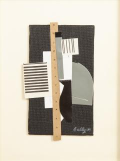 R Scott Lalley R Scott Lalley Collage with Perforated Paper Strip 2009 - 1162297