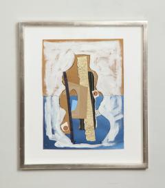 R Scott Lalley R Scott Lalley Gourd Vase 2014 Acrylic Paint Ink and Paper Collage - 1161923