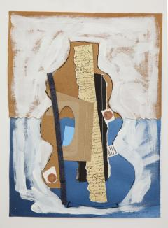 R Scott Lalley R Scott Lalley Gourd Vase 2014 Acrylic Paint Ink and Paper Collage - 1161924