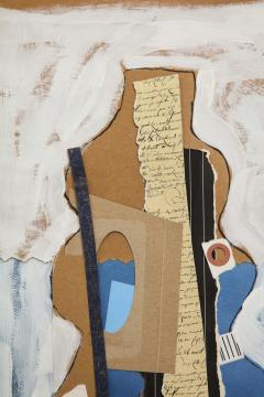 R Scott Lalley R Scott Lalley Gourd Vase 2014 Acrylic Paint Ink and Paper Collage - 1161925