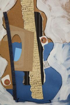 R Scott Lalley R Scott Lalley Gourd Vase 2014 Acrylic Paint Ink and Paper Collage - 1161926