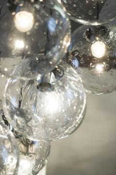 RAAK 1970s huge glass balls chandelier by RAAK Amsterdam - 903809
