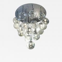 RAAK 1970s huge glass balls chandelier by RAAK Amsterdam - 905601