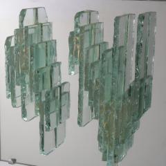 RAAK RAAK Sculptural Glass Wall Sconces Model C1517 Netherlands 1960 - 930887
