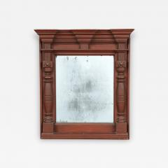 RARE ARCHITECTURAL PAINTED MIRROR - 1393468