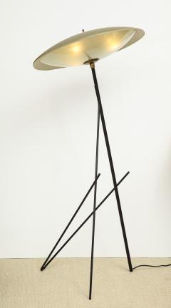 RARE TRI POD FLOOR LAMP WITH LARGE SHADE - 1844876