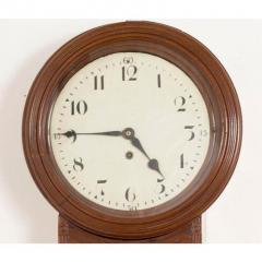 REGENCY MAHOGANY TAVERN CLOCK - 2041447