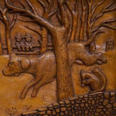 RELIEF CARVED PANEL - 589249