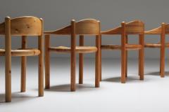 Rainer Daumiller Rainer Daumiller Pine Carver Chairs Denmark 1970s - 2133082