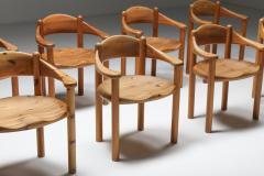 Rainer Daumiller Rainer Daumiller Pine Carver Chairs Denmark 1970s - 2133083