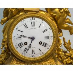 Raingo Fr res Fine Quality Gilt Bronze Figural Mantle Clock by Raingo Fr res - 1435146