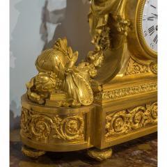 Raingo Fr res Fine Quality Gilt Bronze Figural Mantle Clock by Raingo Fr res - 1435148