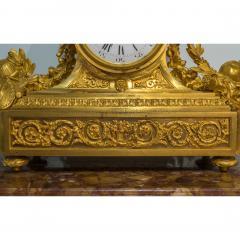Raingo Fr res Fine Quality Gilt Bronze Figural Mantle Clock by Raingo Fr res - 1435149