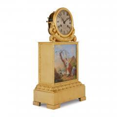 Raingo Fr res Ormolu and porcelain antique mantel clock by Raingo Fr res - 1516275