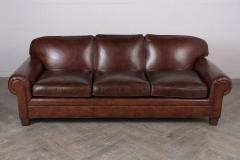 Ralph Lauren Restored Ralph Lauren Leather Sofa - 848007